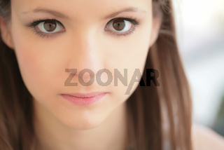 girl with magnetic glance