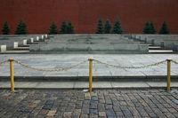 An der Kreml-Mauer