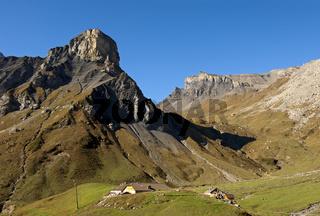 Poganggenalp mit Rotstockhütte, Berner Oberland