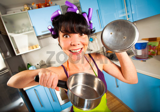 crazy housewife
