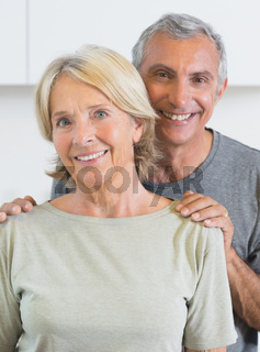 Portrait of a couple smiling