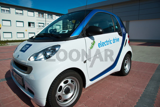 Elektroauto E-Smart electric drive von Smart