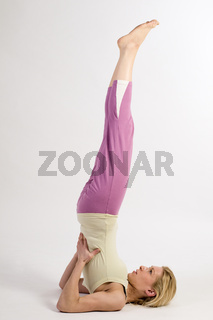 yoga shoulder stand