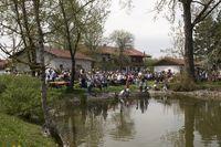 Maifest am Dorfweiher