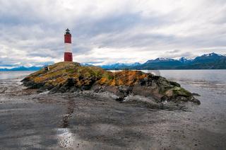 Les Eclaireurs lighthouse, Beagle channel, Argentina