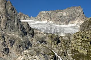 Bächlitalhütte, Berner Alpen, Schweiz