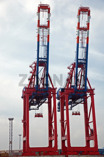 Hamburger Hafen 2012 – Verladearbeiten
