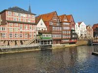 Fachwerkhäuser an der Ilmenau, Lüneburg