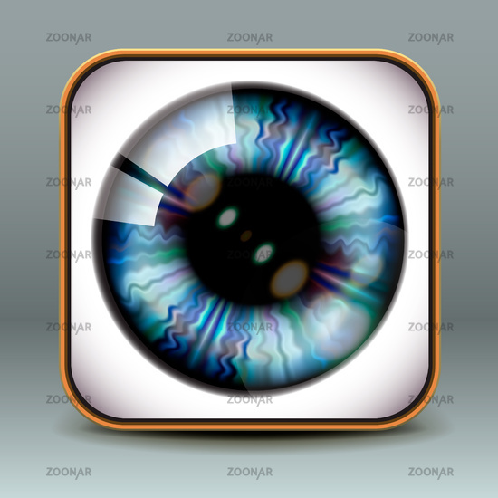 App design eye icon