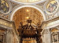 Indoor Basilica in Vatican