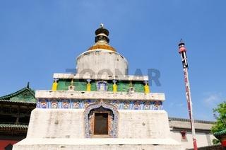 Stupa  Kloster Kumbum  Xining China