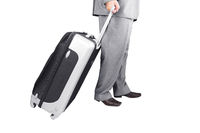 Man Walking with Travel Bag