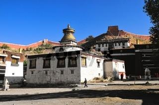 Klosteranlage Palkhor mit Tsuklahang-Tempel in Gyantse  Tibet China