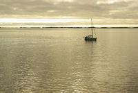Segelboot vor Norwegen