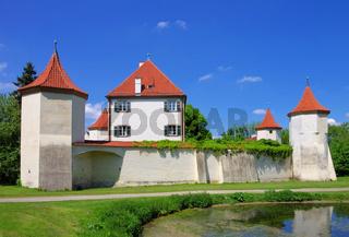 Muenchen Schloss Blutenburg - Munich palace Blutenburg 01