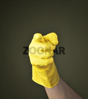 Accusing finger