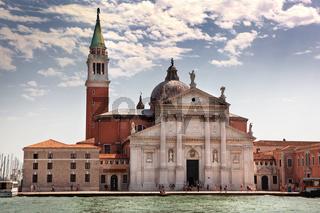 San Giorgio Maggiore church on Grand Canal in Venice