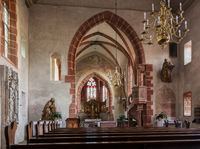 Church of Hirschhorn Hesse Germany