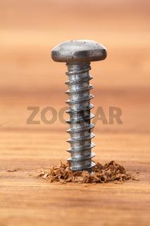 ballhead screw in wood