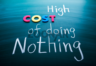 High cost of doing nothing