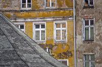 Marode Häuser, Stralsund, Deutschland