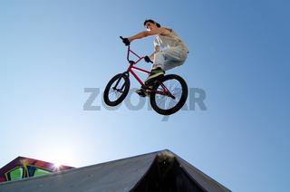 BMX Bike Stunt Table Top