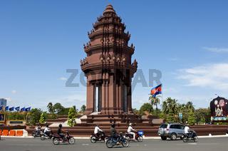 Unabhängigkeitsdenkmal, Phnom Penh, Kambodscha