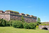 Wall of Suomenlinna