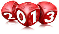 Dice 2013 Happy New Year