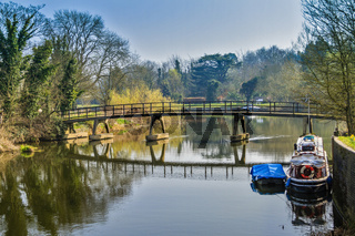 A Bridge At Sonning On Thames UK