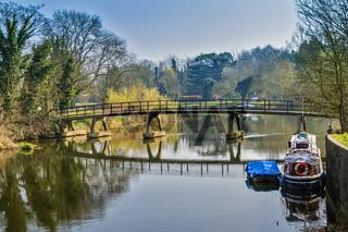 A Bridge At Sonning On Thames UK