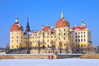 Moritzburg im Winter - Moritzburg Castle in winter 03
