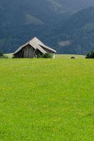 Alte Scheune, Kärnten, Österreich, Sommer