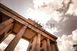 Brandenberg Gate and the Quadriga