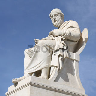 Statue of Plato in Athens