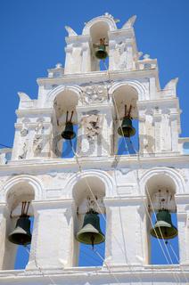 Glockenturm - Santorin - Griechenland