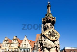 Der Roland in Bremen