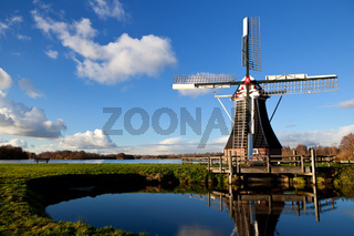 charming Dutch windmill