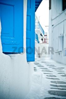 Back street, Mykonos
