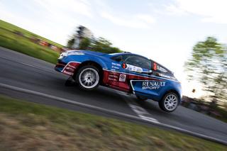 Carsten Mohe bei der AvD Sachsen Rallye 2012
