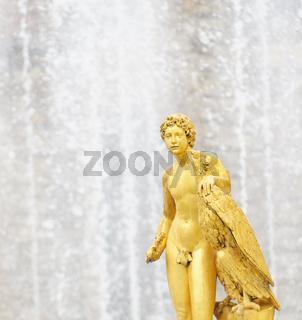 Fountains of Petergof, Saint Petersburg, Russia