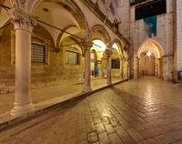 Altstadt  Dubrovnik am Abend