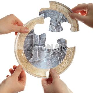 euro trennen
