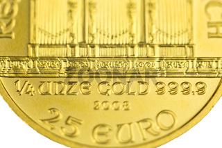 1/4 Unze Gold