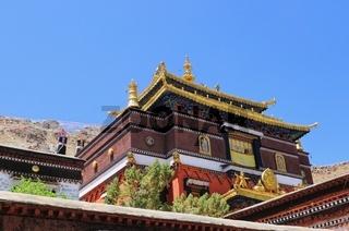 Shigatse  Kloster Tashilhunpo  Tibet