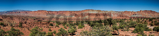Panorama Point of the Capitol Reef National Park