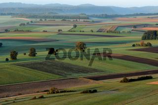 Herbstlandschaft auf der Schwäbischen Alb