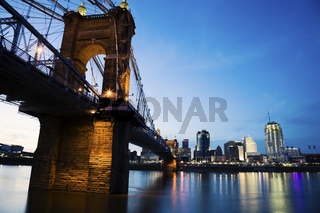 Cincinnati and Ohio River