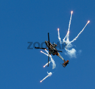 Apache AH-64D Solo Display Team