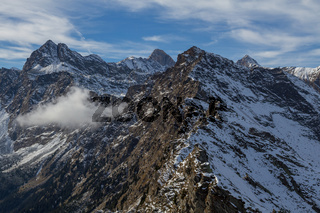 The texel group in the alps from the Mutpeak